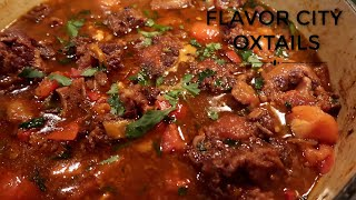 The BEST OXTAIL EVER|| Fresh ingredients||Spanish Seasoning||Step-by-Step Recipe thumbnail