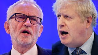 Boris Johnson and Jeremy Corbyn deliver their business pledges to CBI, watch again in full