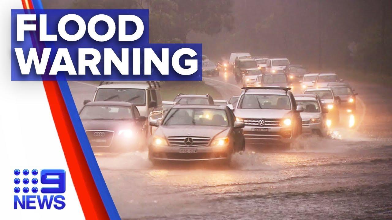 Flood warning issued for south east Queensland   Nine News Australia Смотри на OKTV.uz