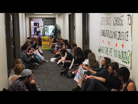 Northern Arizona U. Students Launch Sit-In as Fossil Fuel Divestment Movement Sweeps Country