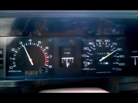 My 1991 nissan king cab pickup - YouTube