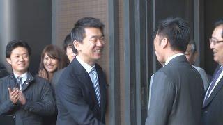 橋下氏が政界引退 「有権者に感謝」