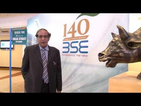 Shri DD Sharma, Risk Capital Advisors speaking on 140 Years of BSE
