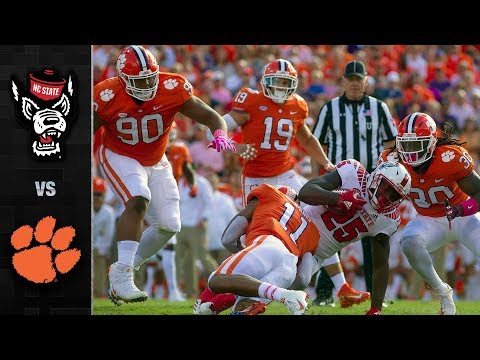 NC State vs. Clemson Football Highlights (2018)