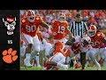 NC State vs. Clemson Football Highlights (2018)