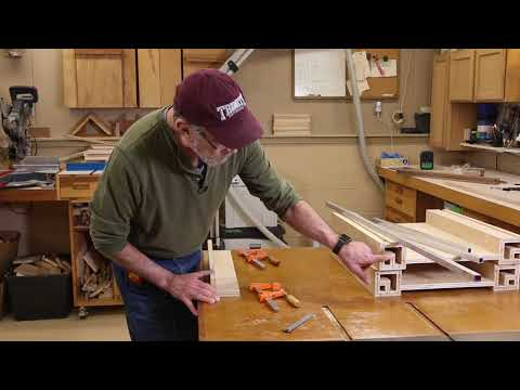 Part 6 - Under Table Saw Storage Cabinet - The Down to Earth Woodworker