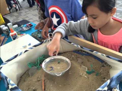 Sifting Sand, World Oceans Day 2015