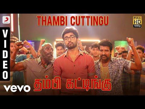 Gemini Ganeshanum Suruli Raajanum - Thambi Cuttingu Video | D. Imman | Atharvaa