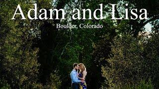 Boulder Colorado Engagement - Boulder Wedding Photographer - Adam and Lisa