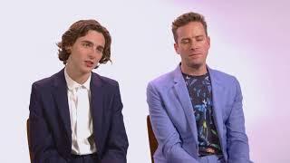 Timothée  Chalamet and Armie Hammer — Awards Season Spotlight