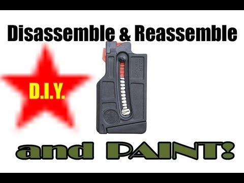 S&W M&P 15-22 MAGAZINE Disassemble, Paint, Reassemble