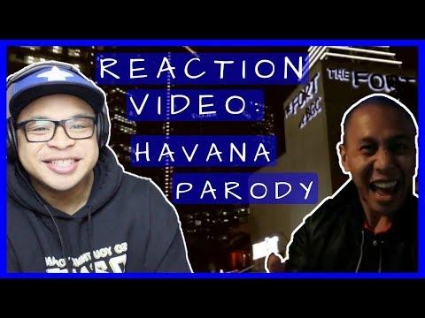 Reaction Video: Havana (Camila Cabello) Parody - Party in Manila by Mikey Bustos