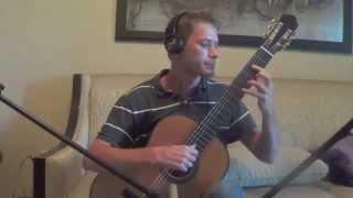 Bach Cello Suite 3 - Courante BWV 1009 C Major for Classical Guitar