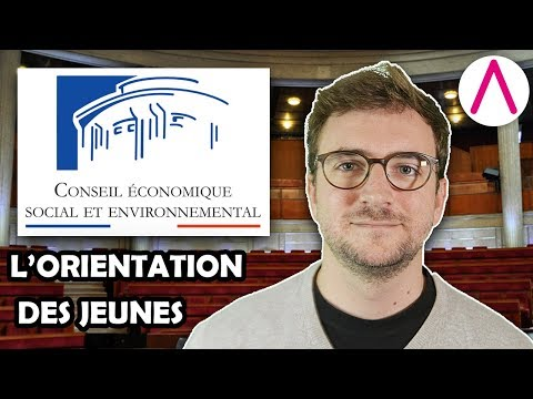 Avis sur l'orientation des jeunes [CESE commenté du 11/04/2018]