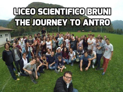 Liceo Scientifico Bruni - gita ad Antro!