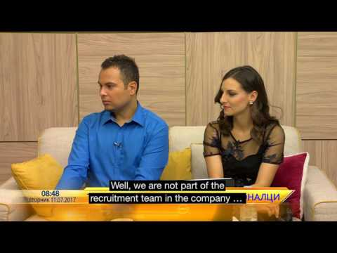 Endavans on the exciting IT industry in a Macedonian TV show
