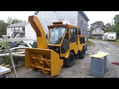 trackless MT5TD snowblower & tractor rebuild complete