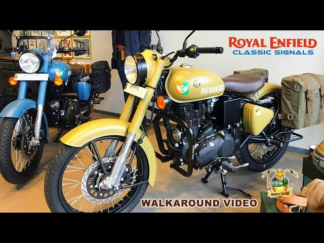 Royal Enfield Classic Signals - Walk around Review - Riders Cartel