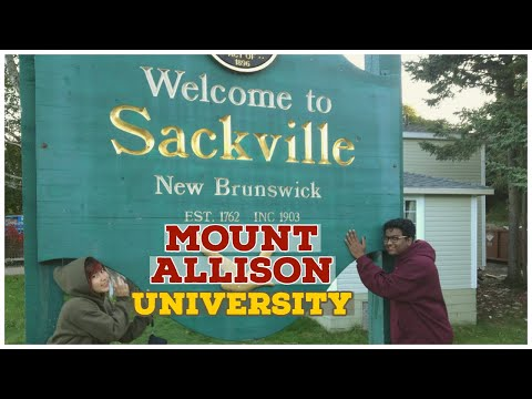 SACKVILLE, NEW BRUNSWICK   Mount Allison University   Interesting Things About This Small Town