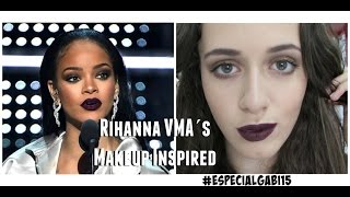 Maquiagem inspirada na RIHANNA | Rihanna Makeup Tutorial VMA