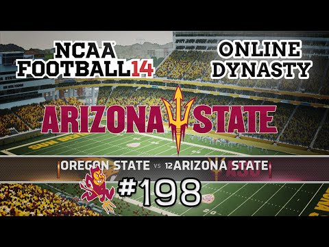 NCAA Football 14: Online Dynasty - E198 | S7G6 vs Oregon State Beavers(Conference Game)