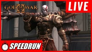 GOD OF WAR 2 VERY HARD ATÉ ZERAR SPEEDRUN NG + GOD OF WAR 2 COM BUG