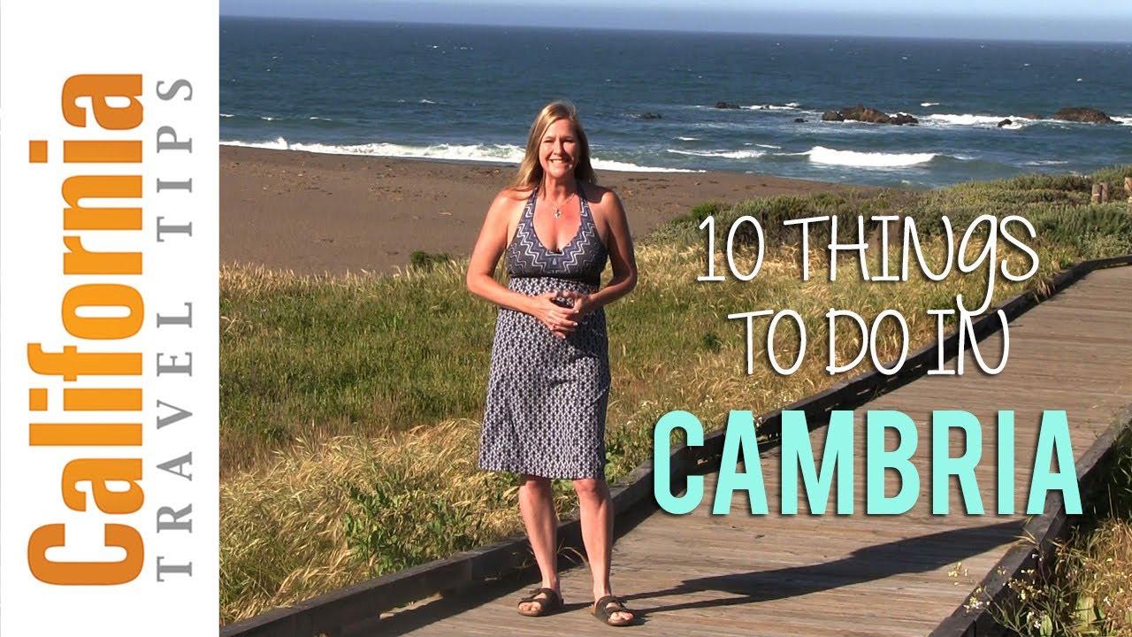 Cambria California Travel Tips Youtube