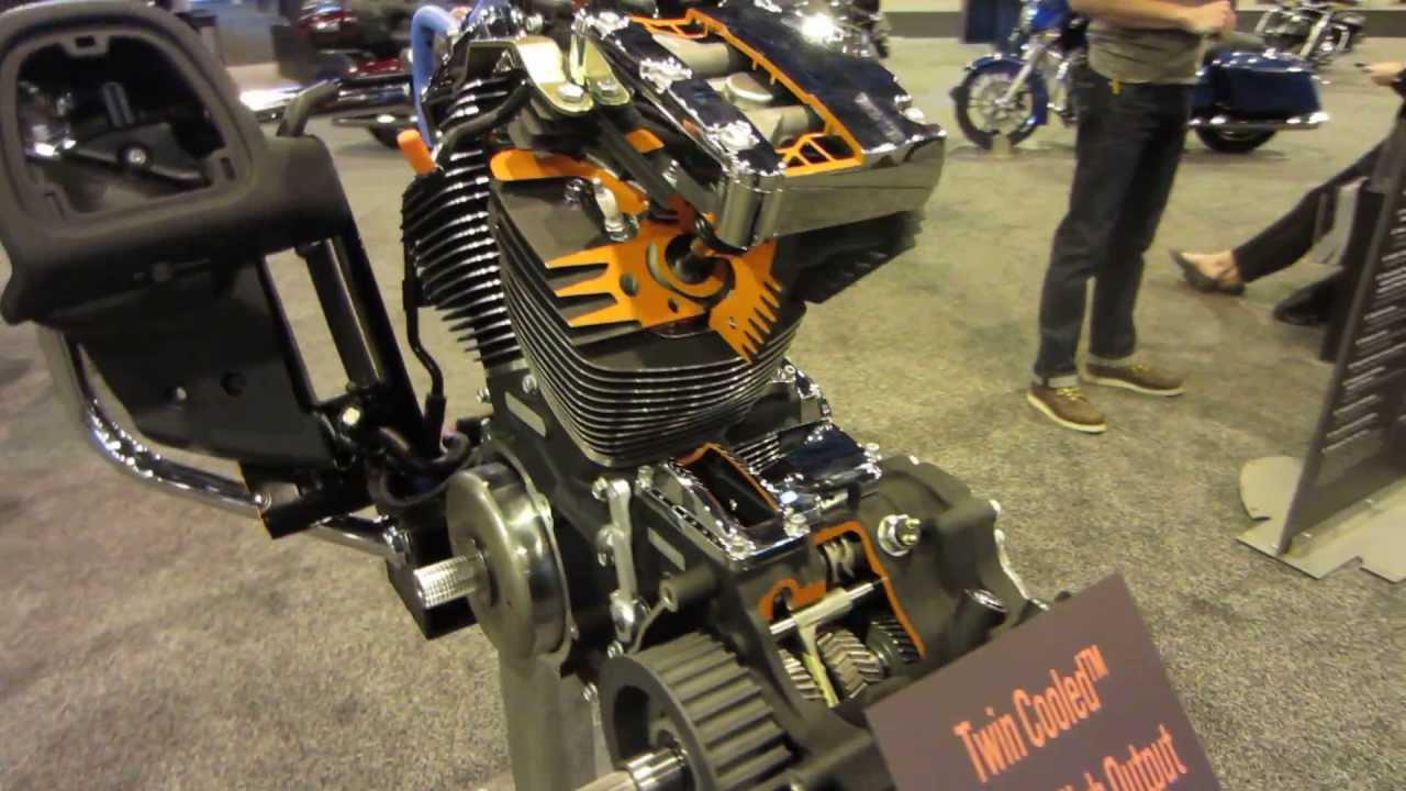 harley-davidson twin-cooled™ high output twin cam 103™ - youtube