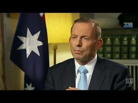 Exclusive: Leigh Sales interviews PM Tony Abbott on 7.30