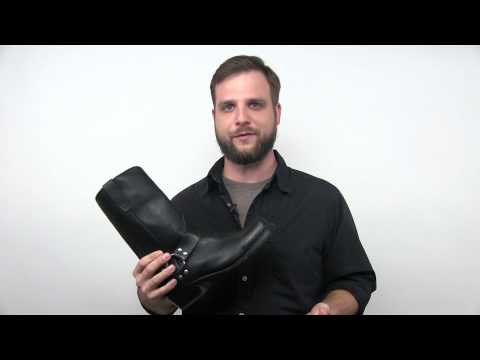 Men's Black Harness Boot Style DB510