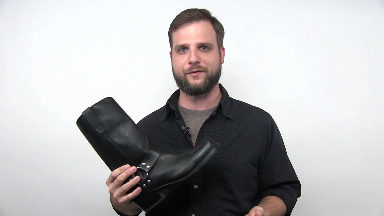 Brown Leather Boots For Men Fashion
