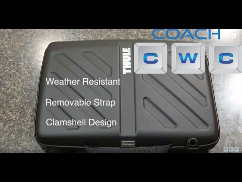 Thule Gauntlet Attache 15 Case Review Best Case For Macbook Pro 15 Youtube