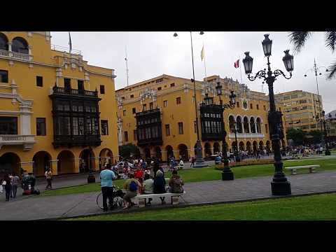 Lima Peru walking street tour. is it safe?