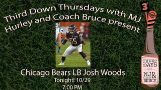 Third Down Thursdays with BEARS LB Josh Woods