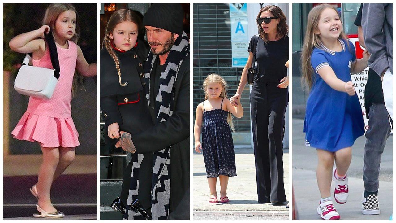 Harper Beckham David Beckham Amp Victoria Beckham S