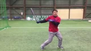 ブリスフィールド東大阪 野球教室 http://www.bliss-field.com/ 平下晃...
