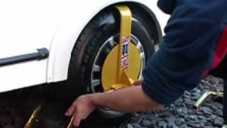 Fitting Of A Bulldog Qd Wheel Clamp