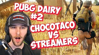 ChocoTaco vs Streamers | PUBG Moments #2