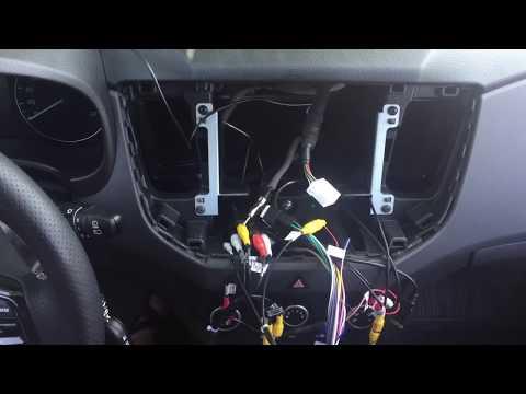 Распаковка и установка 10 дюймовой магнитолы для Hyundai Creta с AliExpress