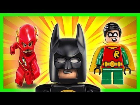 Batman,Robin y Flash Derrotados por Mr Frio,Cat Woman y Bane
