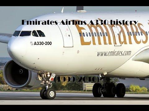 Fleet History - Emirates Airbus A330 (1999-2016)