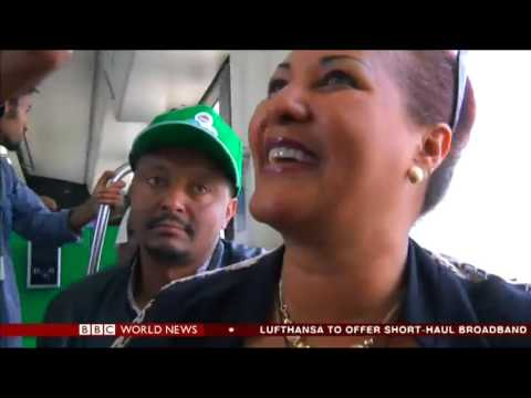 BBC World News - Ethiopia Launch  of City Light Train