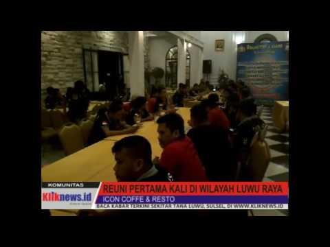Video : Suasana Reuni Akbar Angkatan 21 TTNT & ASADE POLRI di Icon Cofee & Resto