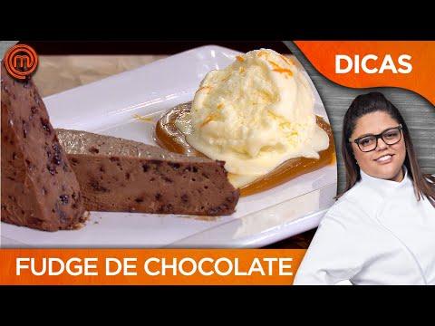 FUDGE DE CHOCOLATE E CARAMELO DE WHISKY com Dayse Paparoto | DICAS MASTERCHEF