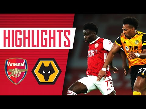 Arsenal Wolves Goals And Highlights