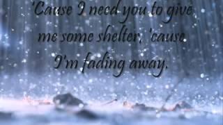 a1 walking in the rain with lyrics