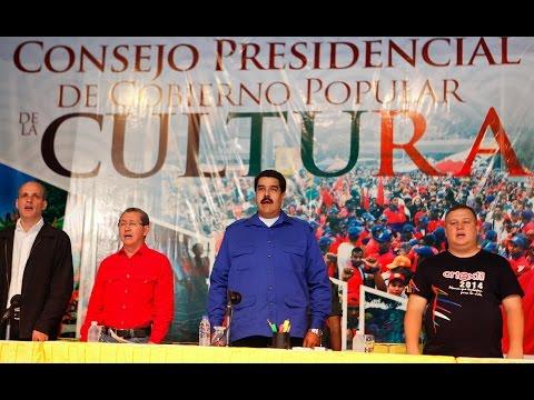 Consejo Presidencial de Gobierno Popular de la Cultura, acto completo
