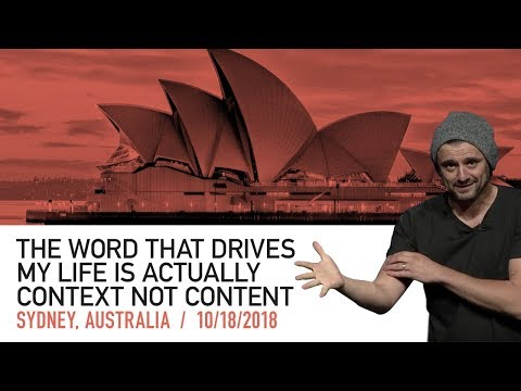 The Secret to Success Is Context, Not Just Content | Sydney Keynote 2018 Mp3
