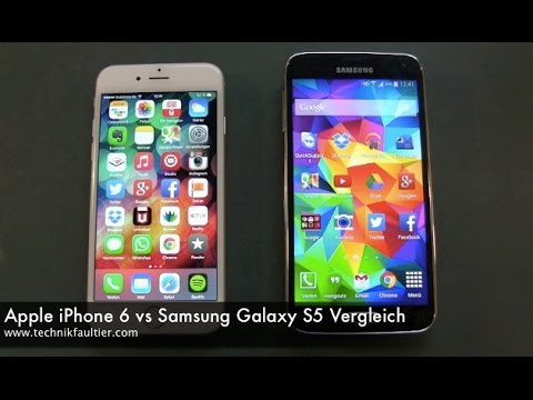Apple iPhone 6 vs Sams...