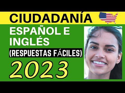 EXAMEN DE CIUDADANÍA AMERICANA 2020 EN ESPAÑOL E INGLÉS: RESPUESTAS FÁCILES